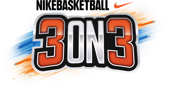 The Nike basketball 3-on-3 logo.